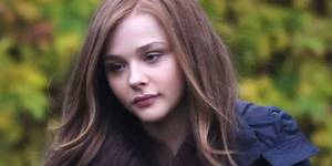Chloë Grace Moretz under innspillingen av If I Stay