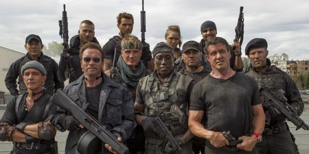 Gutta krutt i The Expendables 3