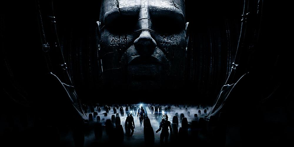 """Fra """"Prometheus."""" Er det noe Ridley Scott kan, så er det romfilmer!"""