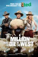 A Million Ways to Die in the West - norsk plakat
