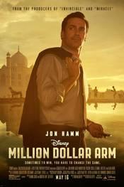 Million Dollar Arm - plakat
