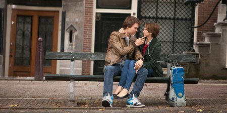 Ansel Elgort og Shailene Woodley i The Fault in Our Stars