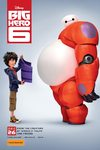 Big Hero Six - karakterplakat