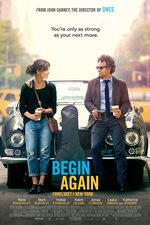 Begin Again - forelsket i New York - norsk plakat