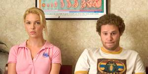 Katherine Heigl og Seth Rogen i Knocked Up