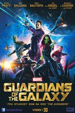 Guardians of the Galaxy - norsk plakat