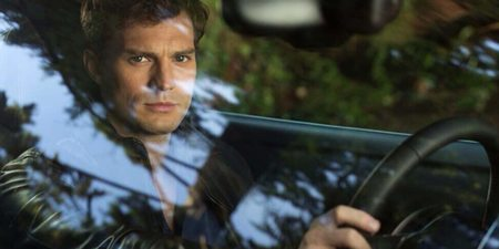 Jamie Dornan som Christian Grey i Fifty Shades of Grey
