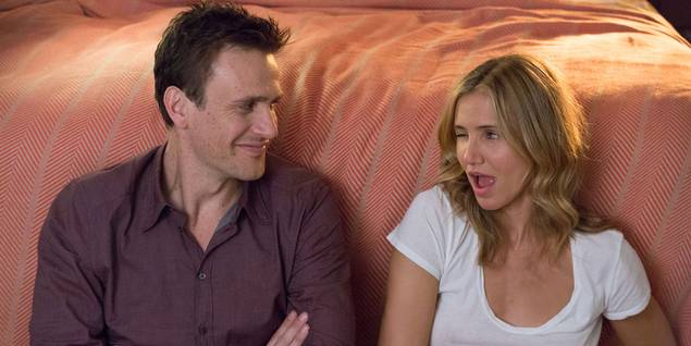 Jason Segel og Cameron Diaz i filmen Sex Tape