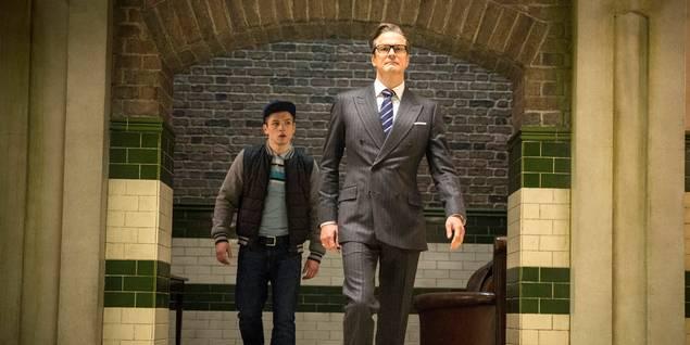 Colin Firth i Kingsman: The Secret Service