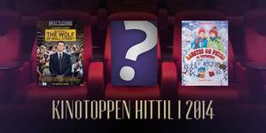 Kinotoppen halvveis i 2014