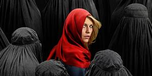 Claire Danes som Carrie i Homeland sesong 4