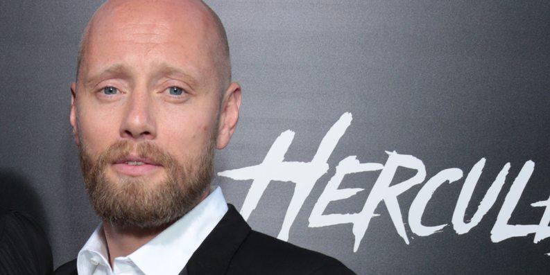 Aksel Hennie på premieren til Hercules i Los Angeles