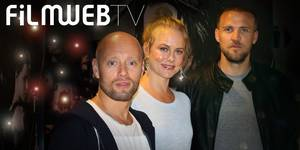 Tobias Antelmann, Ingrid Bolsø Berdal og Aksel Hennie på pressedag for Hercules