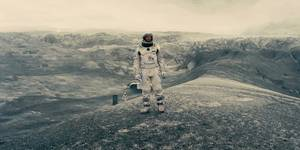 Stillbilde fra Interstellar