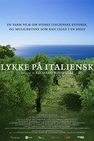 Lykke på italiensk - norsk plakat