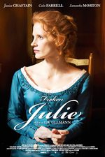Frøken Julie - norsk plakat