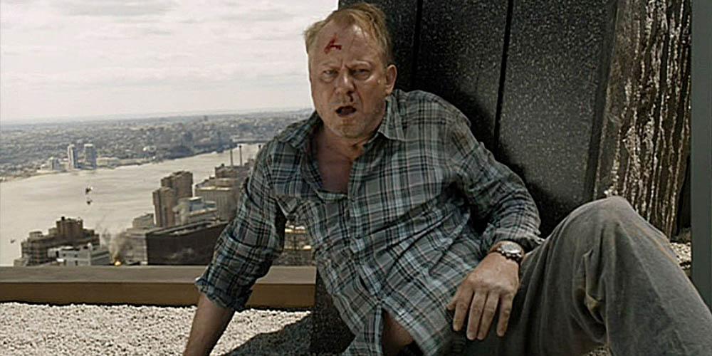 Stellan Skarsgard som Selvig i The Avengers