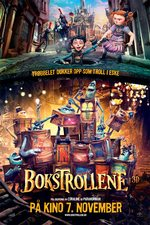 Bokstrollene - norsk plakat