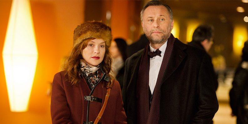 Isabelle Huppert og Michael Nyqvist i En helg i Paris