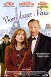 Noen dager i Paris - norsk plakat