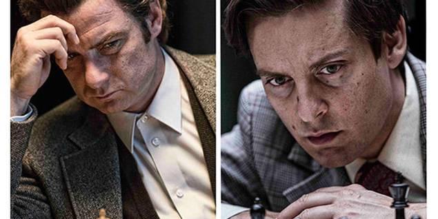 Liev Schreiber og Tobey Maguire i Pawn Sacrifice