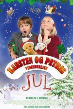 Karsten og Petras vidunderlige jul - plakat