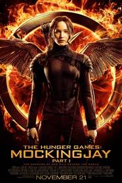The Hunger Games Mockingjay Part 1 - plakat