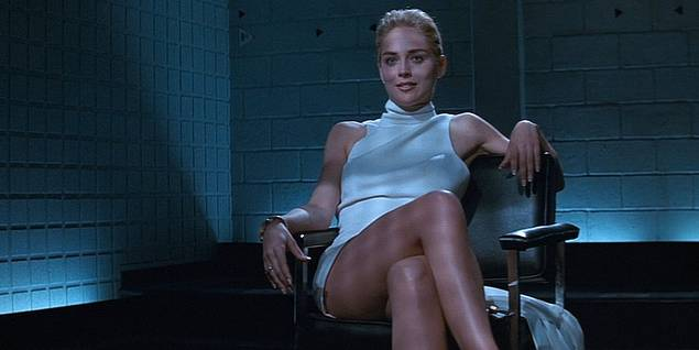 Sharon Stone i Basic Instinct