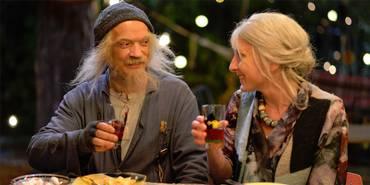 Gard B Eidsvold som Doktor Proktor og Kristin Grue som Juliette Margarin i Doktor Proktors Tidsbadekar