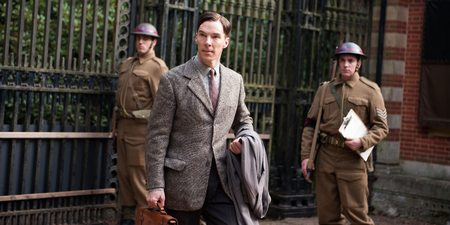 Benedict Cumberbatch som Alan Turing i The Imitation Game