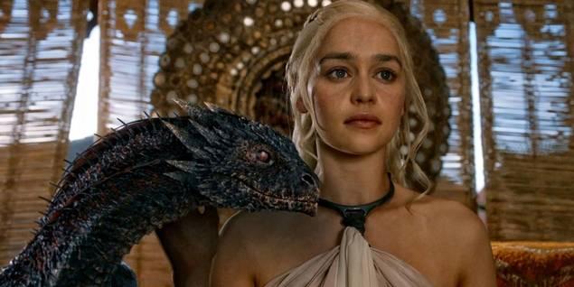 Emilia Clarke i Game of Thrones