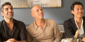 Frédéric Chau, Ary Abittan og Medi Sadoun i Familiekaos