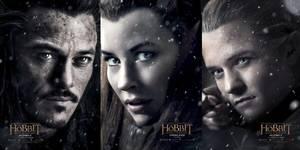 Karakterplakater fra Hobbiten: Femhærerslaget