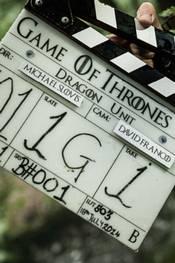 Fra innspillingen av Game of Thrones sesong 5
