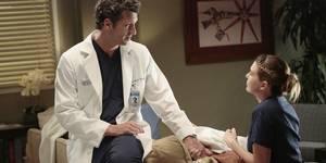 Patrick Dempsey og Ellen Pompeo i Grey's Anatomy sesong 11
