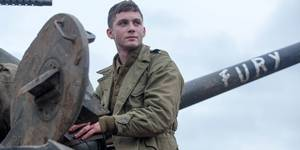 Logan Lerman i Fury