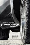 Fast Furious 7 - teaserplakat
