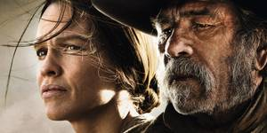 Tommy Lee Jones og Hilary Swank i The Homesman