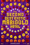 The Second Best Exotic Marigold Hotel - teaserplakat