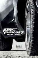 Fast & Furious 7 - teaserplakat norsk