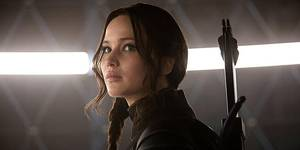 Jennifer Lawrence i The Hunger Games: Mockingjay - Part 1