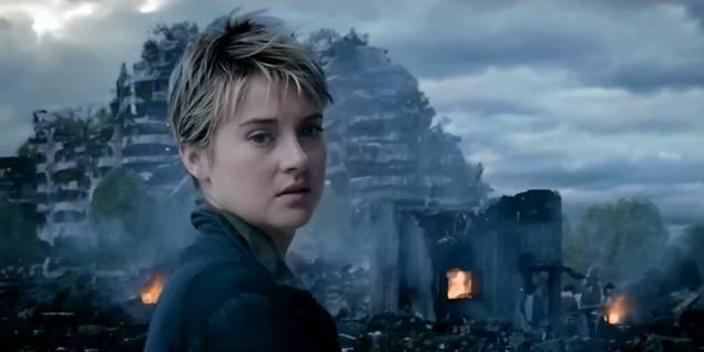 Shailene Woodley i Insurgent