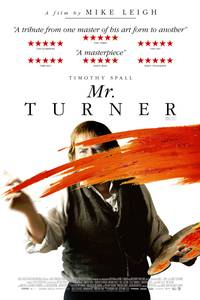 Mr Turner - int. plakat