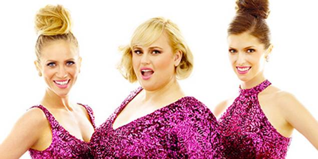 Brittany Snow, Rebel Wilson og Anna Kendrick Pitch Perfect 2