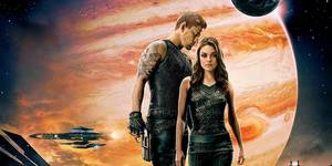 Channing Tatum og Mila Kunis i Jupiter Ascending
