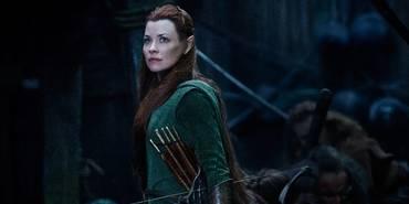 Tauriel (Evangeline Lilly) i Hobbiten: Femhærerslaget