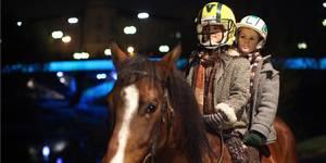 Fra filmen Hest på balkongen!