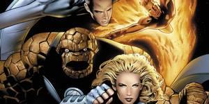 En illustrasjon av Fantastic Four