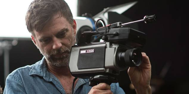 Paul Thomas Anderson på settet til Inherent Vice