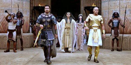 Christian Bale, John Turturro og Joel Edgerton i Exodus